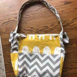 Handbags - Chevron Elephant Diaper Bag